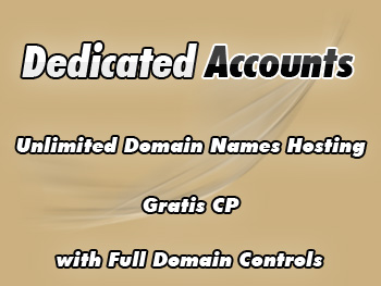 Top dedicated server accounts